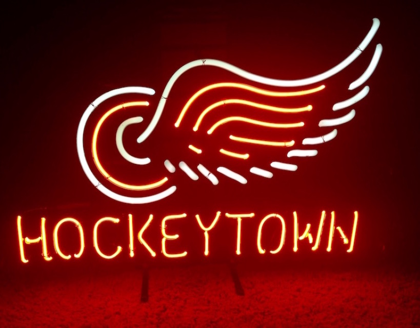 Detroit Sport Teams Neon Signs